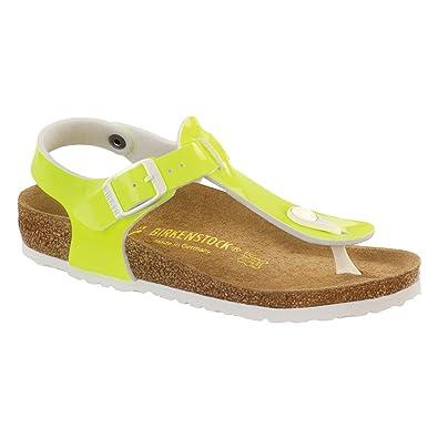 d254c2dee2645 Amazon.com | Birkenstock New Kairo Neon Yellow Pat Birko-Flor 30/12-12.5 N Kids  Sandals | Sandals