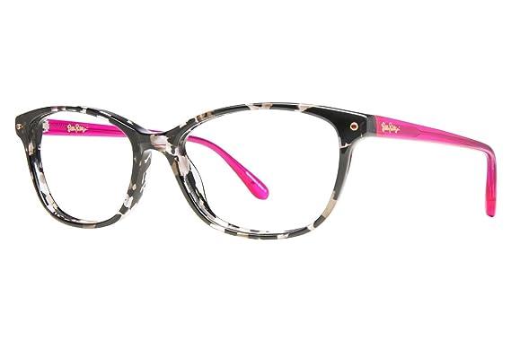 5865ba9d7deb Eyeglasses Lilly Pulitzer Brynn Black Tortoise Black Tortoise at ...