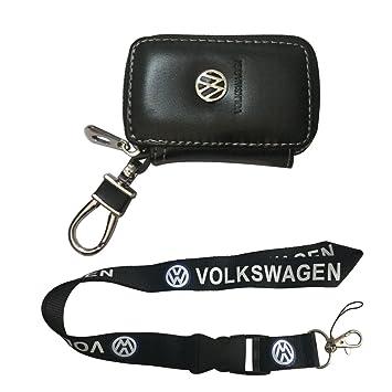 Nueva 1pcs Volkswagen llavero Lanyard Badge Holder + ...