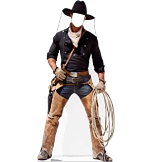 GUNFIGHTER COWBOY Lifesize CARDBOARD CUTOUT Standee Standup Poster Prop Old West