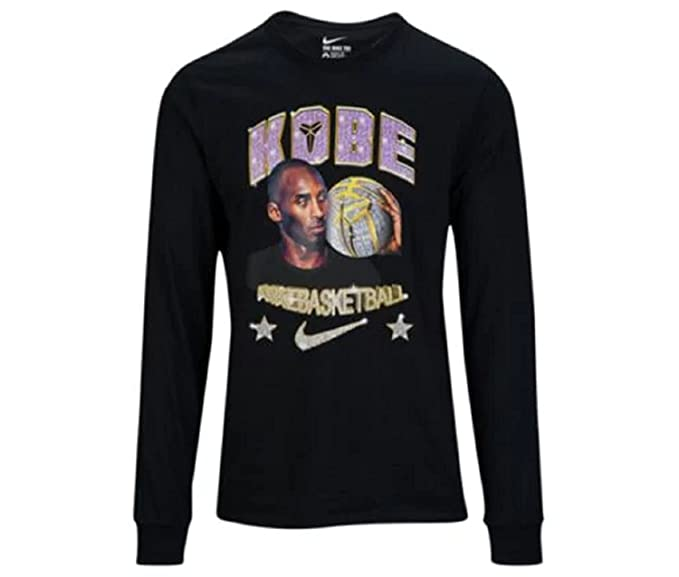 Amazon.com  Nike Kobe Long Sleeve T-Shirt Black (X-Large)  Sports ... 541f6ca0a