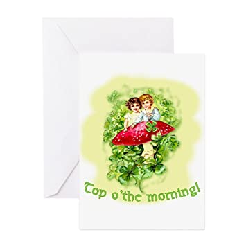 Amazon Cafepress Top Othe Morning Vintage Irish Greeting