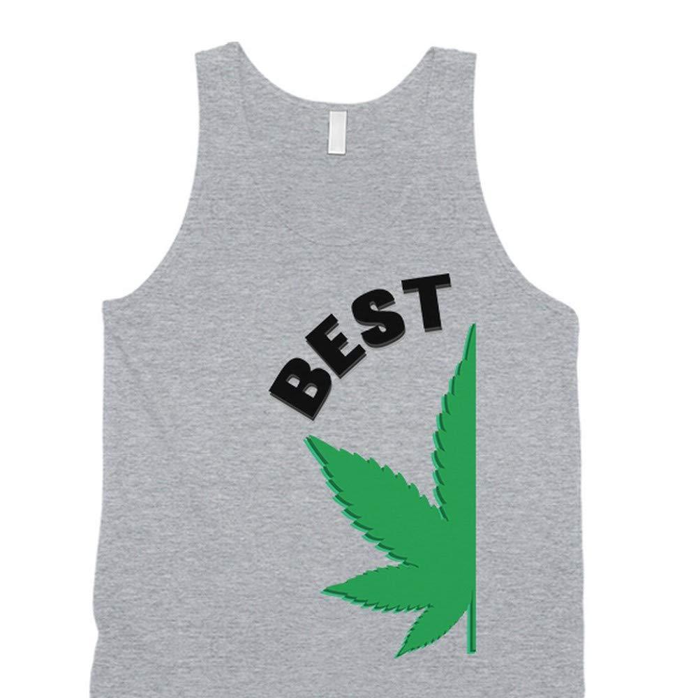 365 Printing Best Buds - Camiseta de Tirantes para Parejas ...