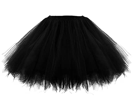 53a343968fc0 Facent Damen Mädchen Kinder Kurz Tutu Rock Tüllrock Tütü Crinoline Minirock  Reifrock Unterrock Kleid Tüll Underskirt  Amazon.de  Bekleidung