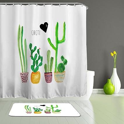 Amazon Com Alfalfa Bathroom Decorative Polyester Fabric Waterproof