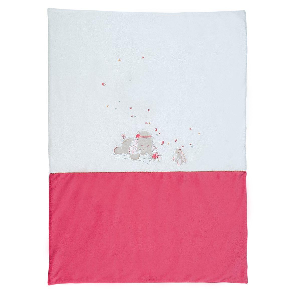 Noukies BB1590.42 Anna und Pili Veloudoux Decke, 75 X 100 cm