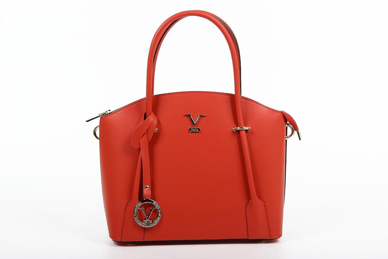 40fc28fc44 Versace 19.69 Abbigliamento Sportivo Srl Ladies Handbag V003 RUGA RED   Amazon.co.uk  Shoes   Bags