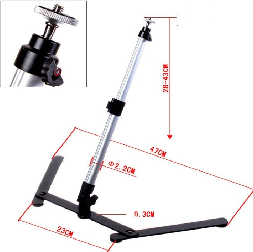 Copy Stand for Camera Video Camera and Light Photography Product Shoot