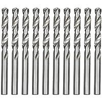 Broca De Aço Rapido Para Metal, 3, 5 Mm, Polida, 10 Pçs Mtx