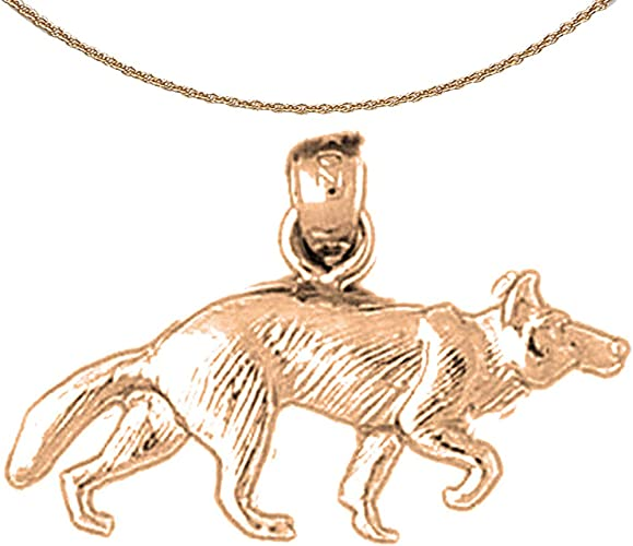 14K Rose Gold-plated 925 Silver Cat Pendant with 18 Necklace Jewels Obsession Cat Necklace