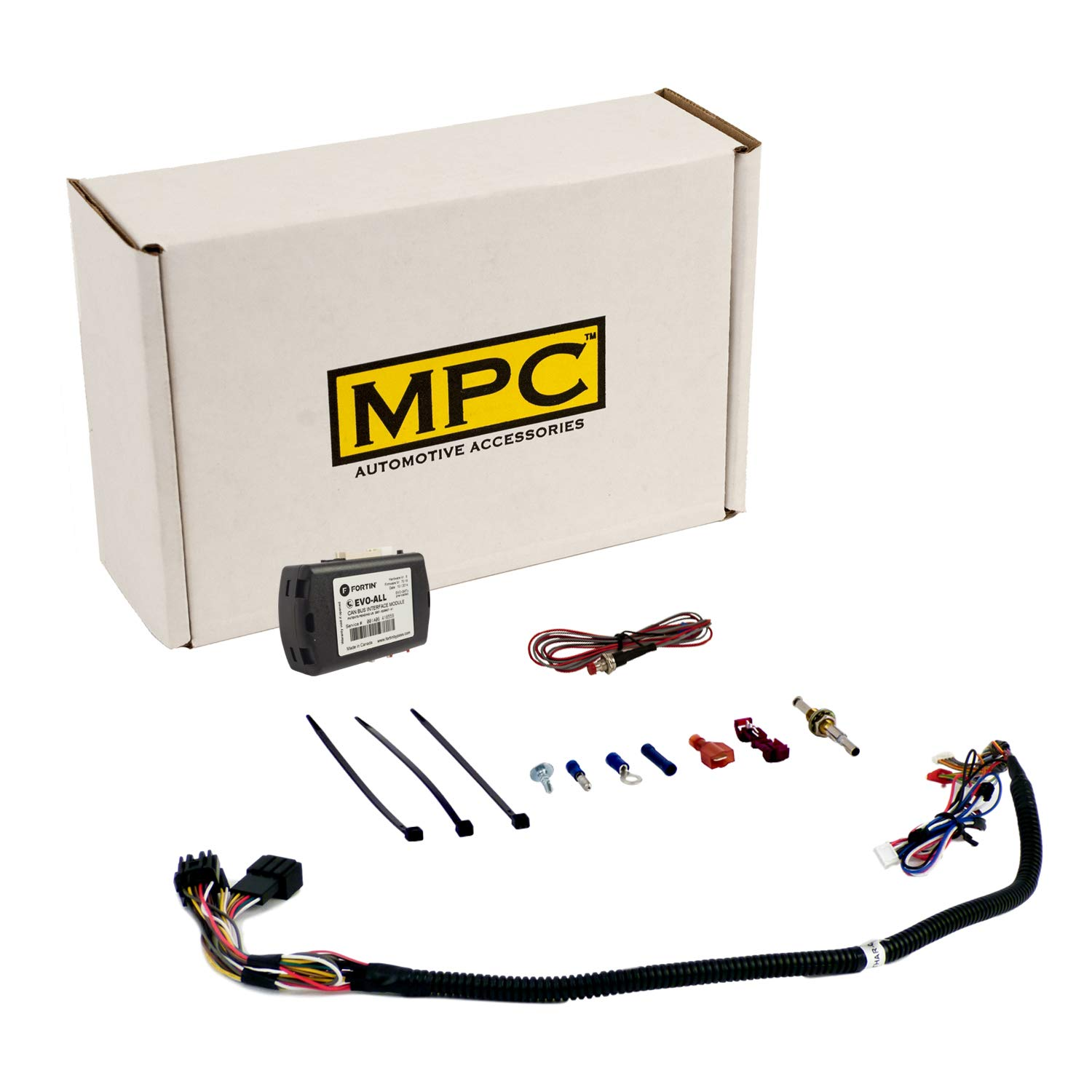 MPC Complete Remote Start for 2007-2013 Chevrolet Silverado 1500 Quick-N-Easy Firmware Preloaded Plug-N-Play T-Harness