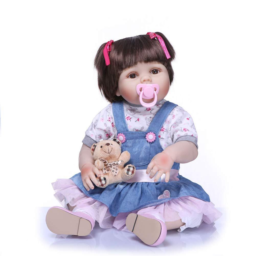 Envío 100% gratuito CQ Bebé Renacido Muñecas Realistas Realistas Realistas Hecho A Mano Bebés para Juguetes Infantiles 22 Pulgadas  grandes ahorros