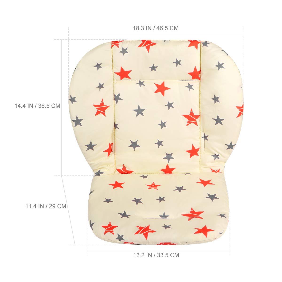 Toyvian Coj/ín Reductor Transpirable Universal para Protector Cabeza y Cuerpo del Beb/é de Silla Paseo Cochecito Asiento de Coche Gris