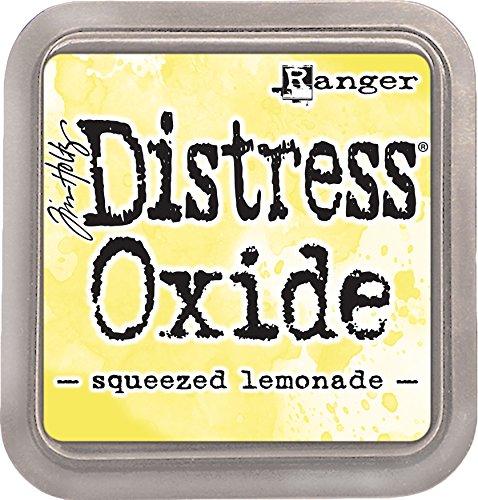 (Ranger Squeezed Lemonade Tim Holtz Distress Oxides Ink Pad)