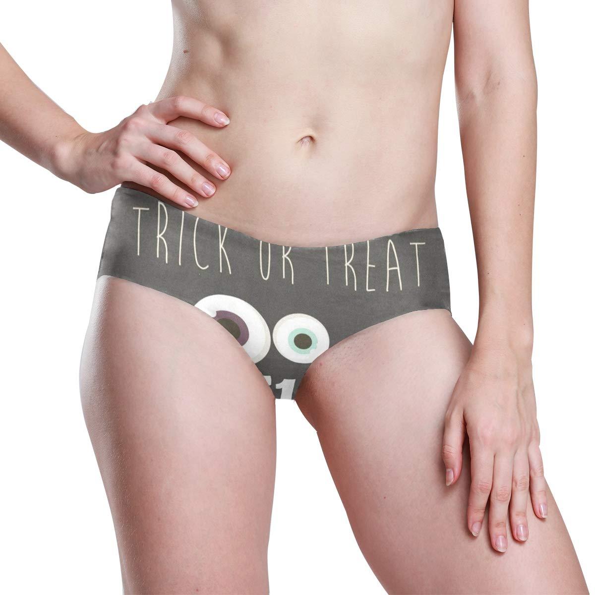 Halloween Womens Invisibles Seamless No Show Panty Line Bikini Laies Panties
