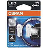 Lâmpada LED W5W OSRAM, Luz Branca