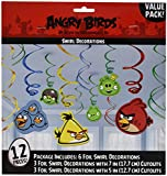 Angry Birds Ceiling Danglers 12pcs