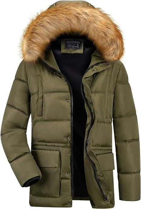 giacca uomo con pelliccia interna
