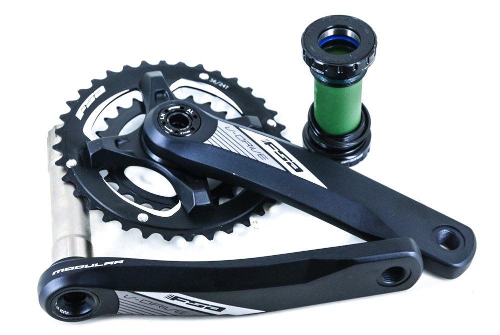 FSA V-Drive Modular MegaExo MTB Bike Crankset + BB 175mm 36/24T 24mm 10/11s NEW