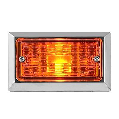 Grand General 80223 Marker Light (Rectangle Amber): Automotive