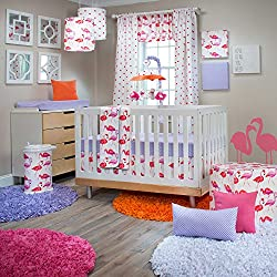 Glenna Jean Lilly & Flo Girl's 3 Piece Baby Crib Bedding Set by Glenna Jean