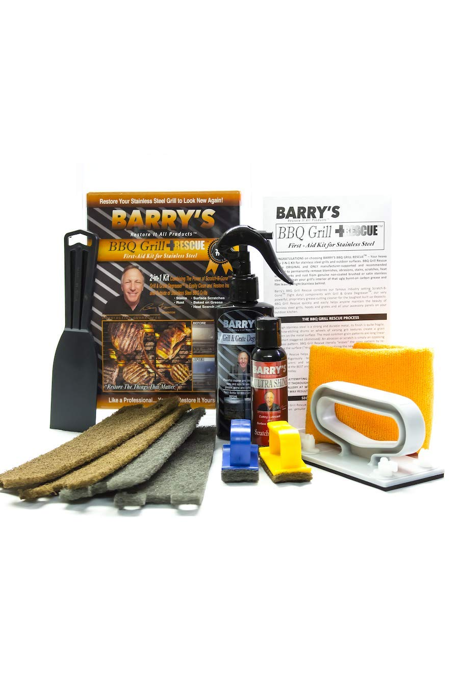 Barry's Restore It All Products - BBQ Grill Rescue Kit