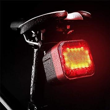 LED Luces para Bicicleta Luz Trasera para Bicicleta Altavoces inalámbricos Bluetooth Ciclismo de Montaña Ciclismo Impermeable Creativo Nuevo diseño 100 LM Rojo Camping/Senderismo/Cuevas Ciclismo,Red: Amazon.es: Deportes y aire libre