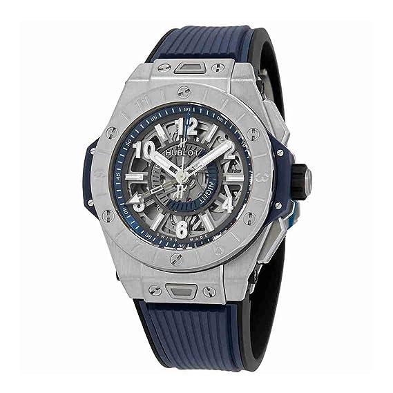 Hublot 471.NX.7112.RX Big Bang Unico GMT - Reloj automático de Titanio para Hombre: Amazon.es: Relojes