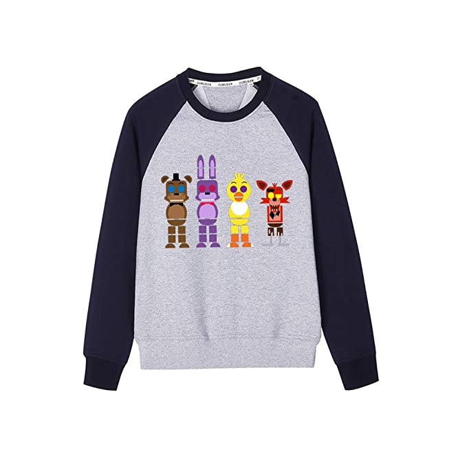 Haililais Five Nights at FreddyS Sudaderas Estampados Camisetas de Manga Larga Sweater para Niño y Niña