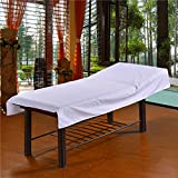 LWZY Linens Massage table sheet,waterproof sheets,spa linens,set of 2,sheet/cosmetic sheets/special sheets for massage fumigation therapy-A 180x115cm(71x45inch)