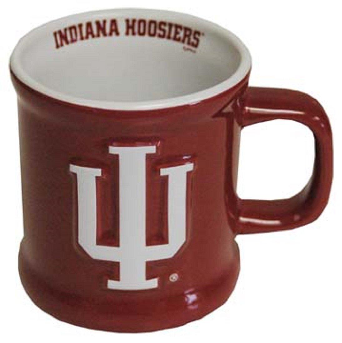 Jenkins Enterprises Indiana Hoosiers Ceramic Relief Mug