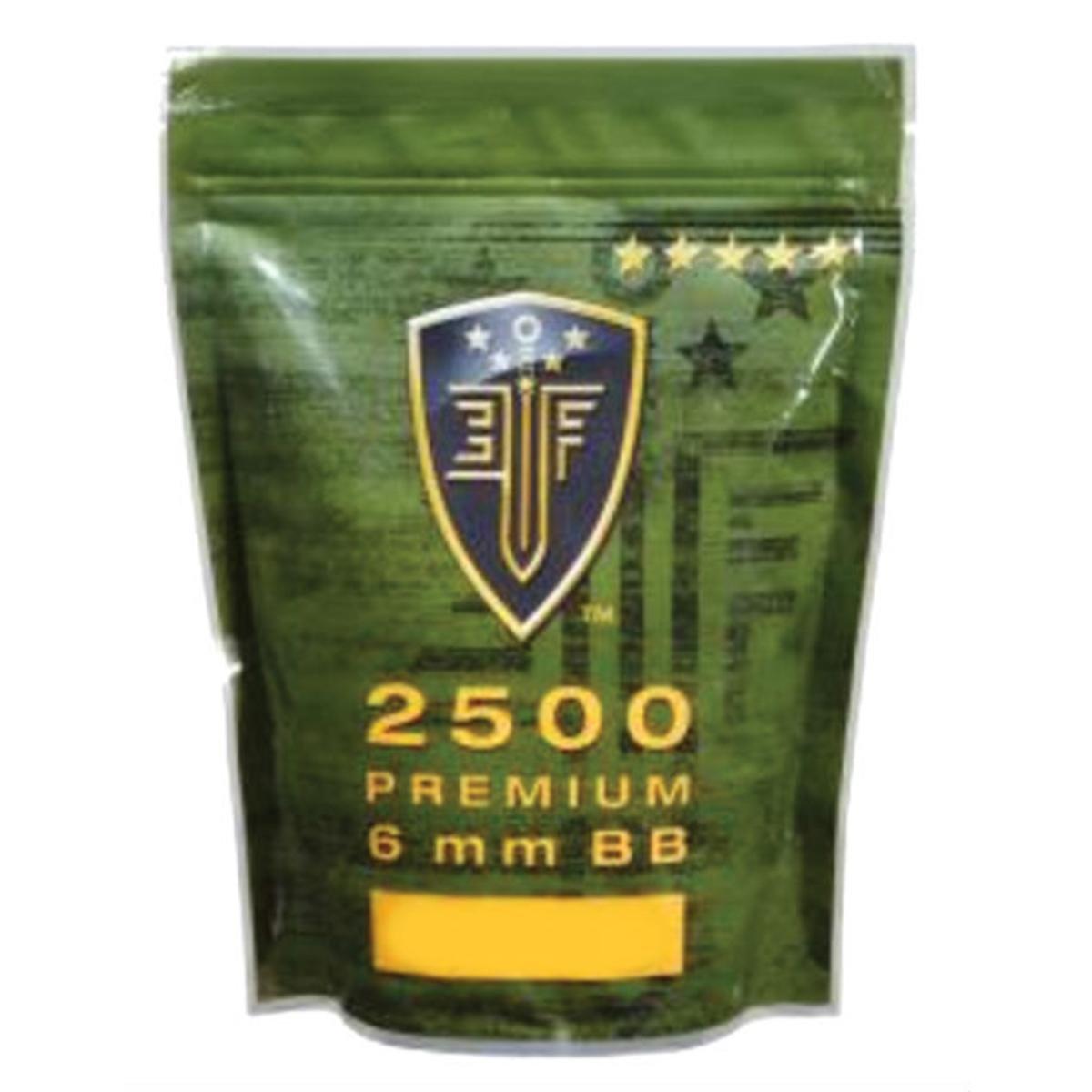 Umarex Elite Force Airsoft plastique BBS 0.25 g Zip Sac 2500