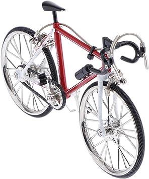 perfeclan Replica Racing Bike Model Alloy Simulador De Bicicleta De Carretera Regalo De Decoración, Regalos De Cumpleaños del Día del Padre, 1/10, Diecast Play - Estilo 2, Tal como se Describe: Amazon.es: