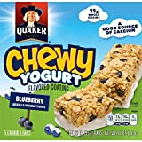 Quaker Yogurt Chewy Granola Bar, Blueberry, 6.1-Ounce Packages (Pack of 6) Review