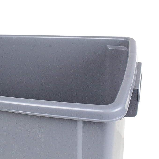LSHWHT Cubos de Reciclaje Contenedor de recolección de ...