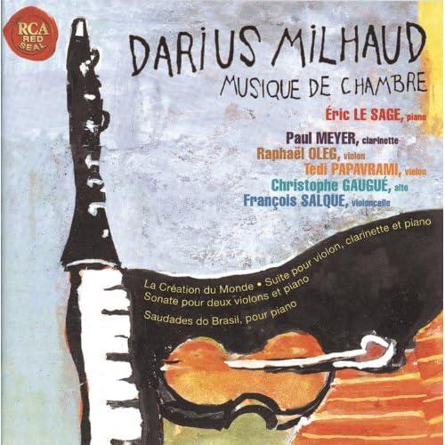 Milhaud musique de chambre various mp3 for Chambre 13 film