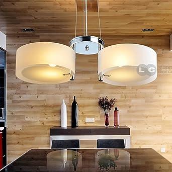Loco Fashion Acrylic Chandelier Lamp Modern Minimalist Lighting Fixtures Cozy Living Room Restaurant Bedroom Study Amazon De Beleuchtung