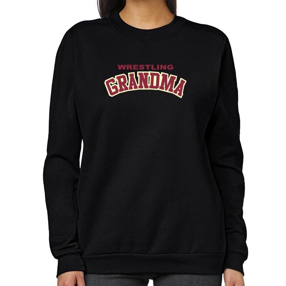 Teeburon Wrestling GRANDMA Women Sweatshirt