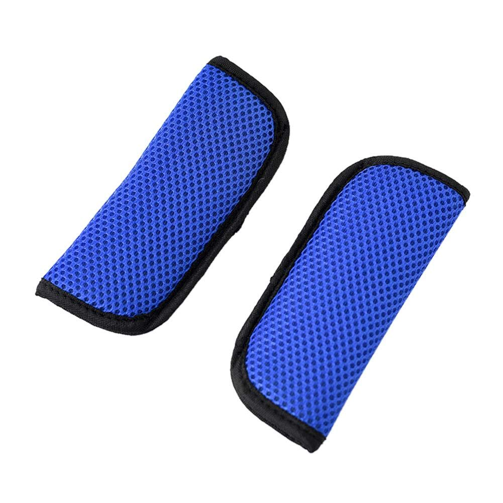 Rosa Zafiro Gris Rojo Lif/éUP Cubierta de cintur/ón de Seguridad de un par de autom/óviles: Negro Azul Cielo