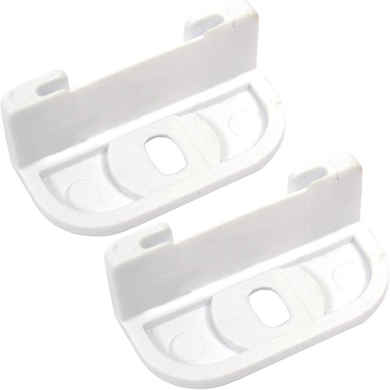 Spares2go - Bisagra deslizante para puerta corredera para frigorífico o congelador ATAG (2 unidades): Amazon.es: Grandes electrodomésticos