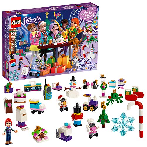 LEGO Friends Advent Calendar 41382 Building Kit, New 2019 (330 Pieces)