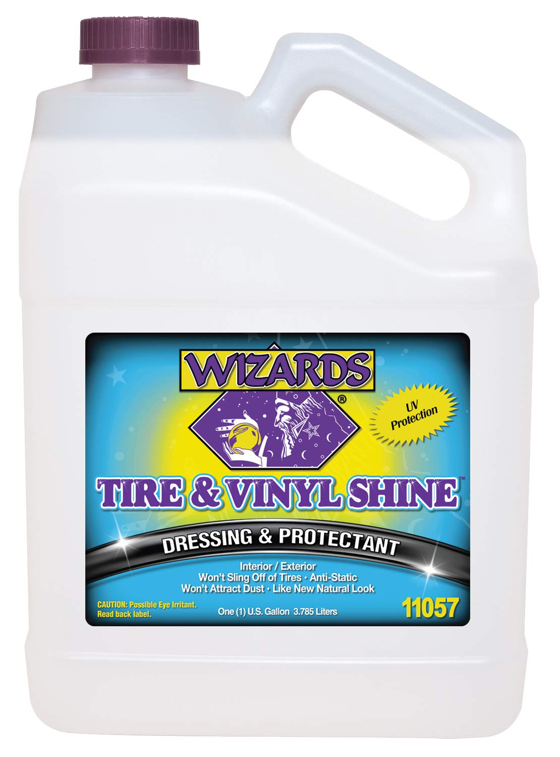 Wizards Tire and Wheel (Vinyl Shine, Gallon) by Wizards (Image #1)