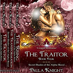 Cougar Romance: Secret Shades of the Alpha Blood Series - The Complete Collection Set 4-6
