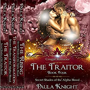 Cougar Romance: Secret Shades of the Alpha Blood Series - The Complete Collection Set 4-6 Audiobook