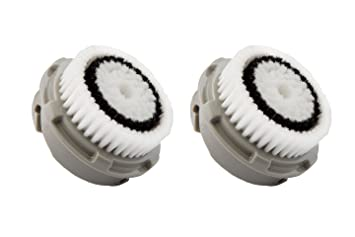 2-Pack Delicate Skin Facial Cleansing Brush Heads for Clarisonic Mia 2 Pro (6 Pack) BERRISOM Animal Mask Series Tiger