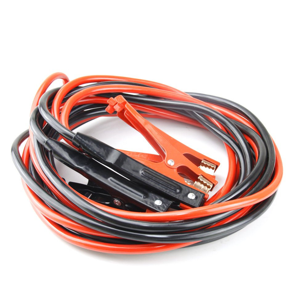 Selectec MG007  20' 2 Gauge Jumping Cables Power Jumper Booster Cable, 600AMP