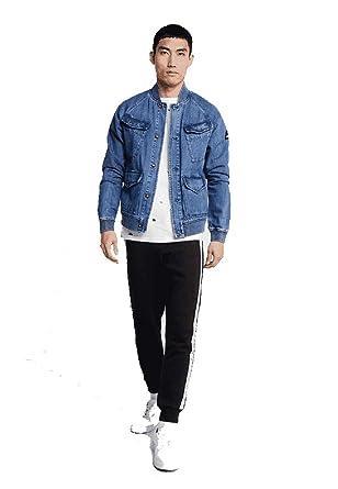 best website 34286 2e045 Calvin Klein Jeans Monogram Tape Pantalone da Tuta CK Black ...