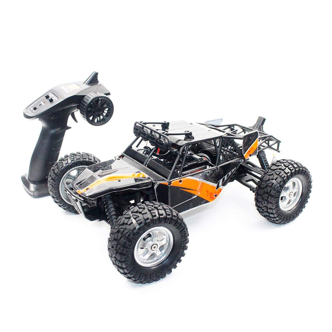 Hermosairis HBX 12815 1/12 2.4G 4WD 30km / h h h Racing Brushed RC Auto Off-Road-Wüsten-LKW mit LED-Licht-Spielzeug für Kinder e1c734
