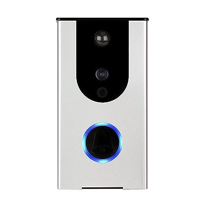 tivdio Smartphone Wi-Fi vídeo timbre Aplicación de conexión IR Sensor Infrarrojo Detector de movimiento