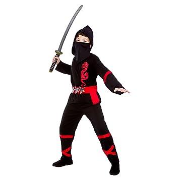 Black Power Ninja - Disfraz Infantil 11 - 13 años